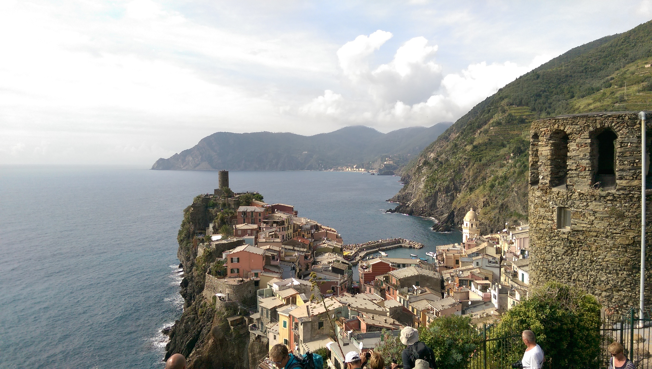 Vernazza, view from South, Cinque Terre, Italy