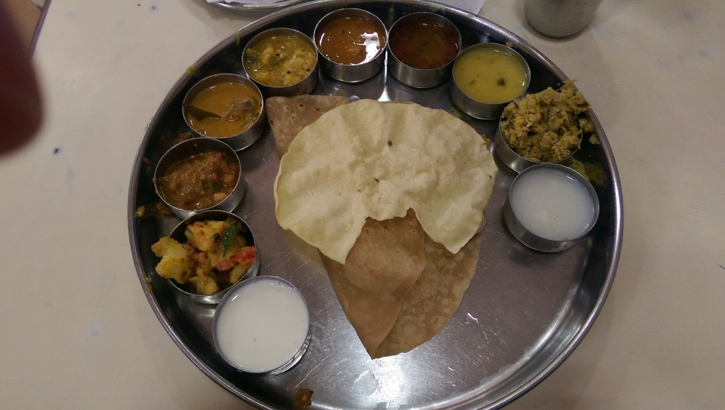 Travel in India: Thali